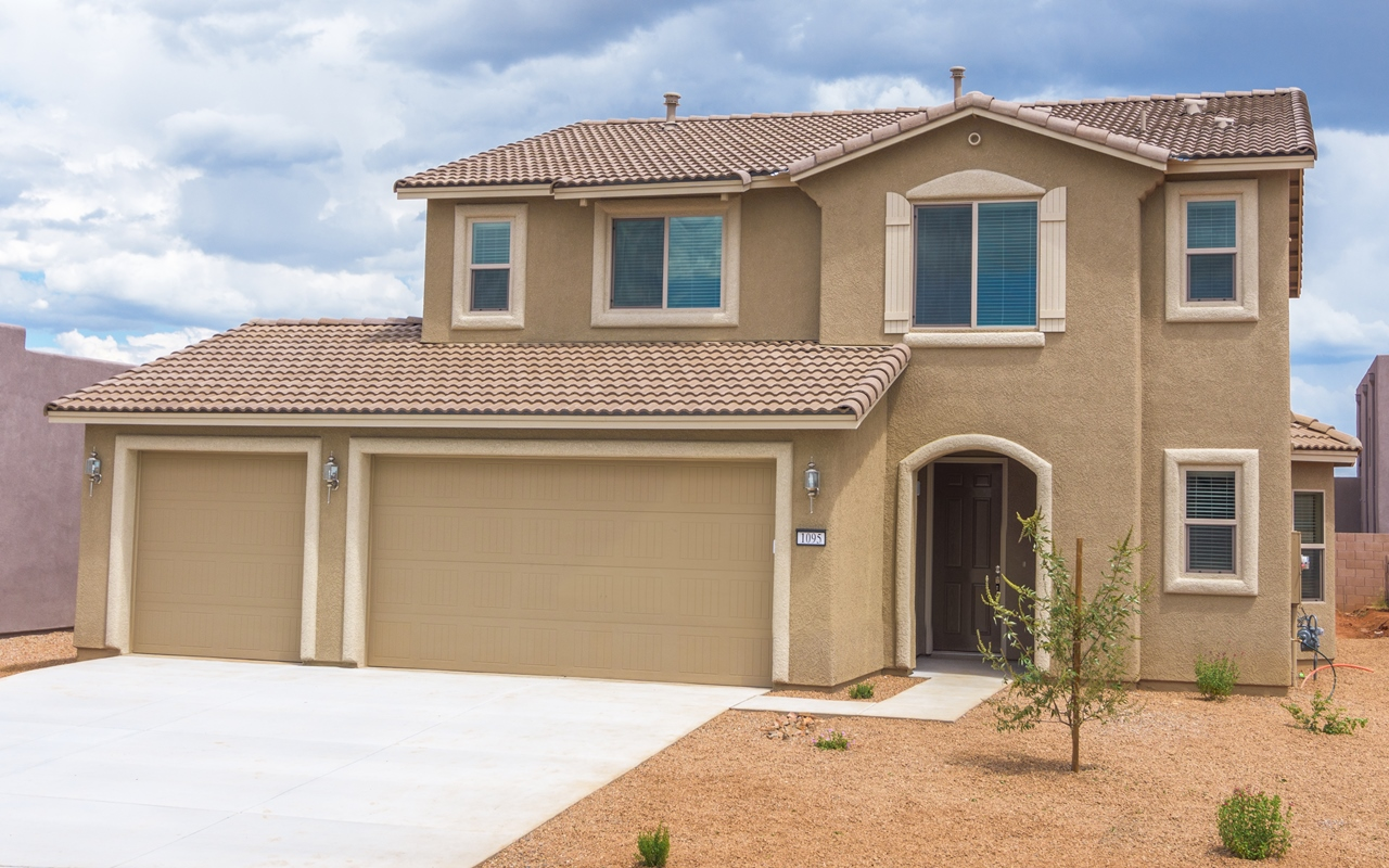 Exterior of Lot 336 Soldier Trail, finished and ready for move in!